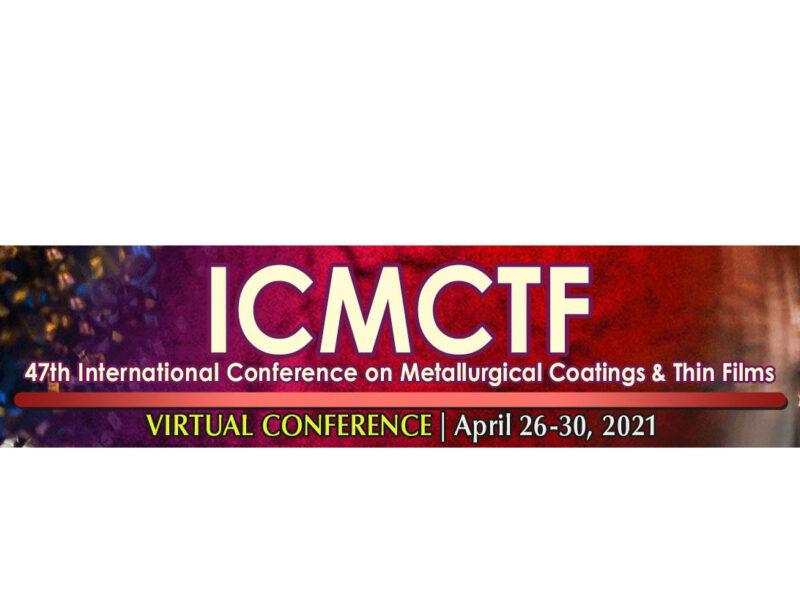 VISIT US AT ICMCTF 2021